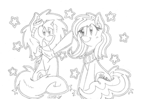 Fritzy and Starzy Pones by FritzyBeat
