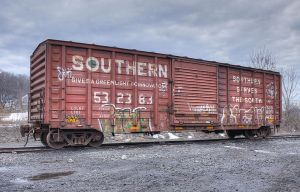 Southern Rail Car by CMiner1