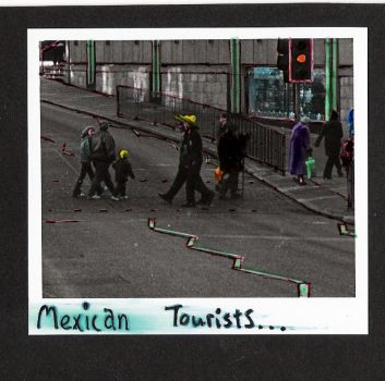 Mexican Tourists by Struco