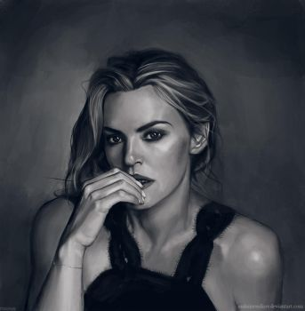 Kate Winslet by MaksimVolkov