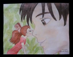 Arrietty - A Tiny Kiss by OptimusThunder