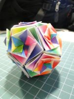 Another dodecahedron kusudama by bslirabsl