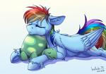 Nap with Tank by InuHoshi-to-DarkPen