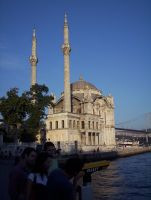 Ortakoy Mosque by yalchinosis