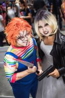Chucky and Tiffany by NattoKan