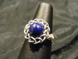 Persian Lapis Ring by BacktoEarthCreations