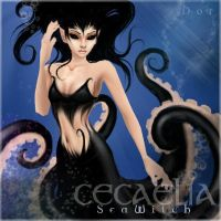Cecaelia Sea Witch by DxOxR