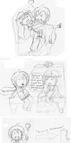 A comic waiting to happen PT 2 by LunaXRavenclaw