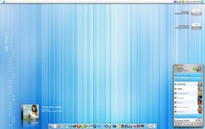My Blue Mac by neodesktop