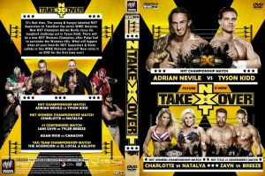 WWE NXT Take Over 2014 DVD Cover by Chirantha