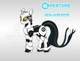 GLaDOS: MLP by Blood-Asp0123
