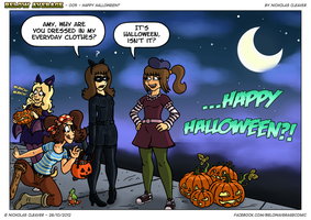 Happy Halloween? by Mister-Mammoth-Pie