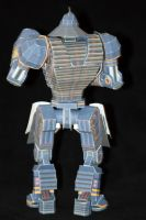 Real Steel Paper model: Noisy Boy: Hard 04 by ThunderChildFTC