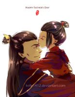 Ozai n Azula ( Happy OZ Father's Day 2012) by kelly1412