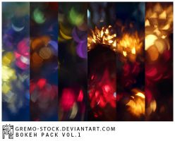 bokeh pack vol.1 by gremo-stock