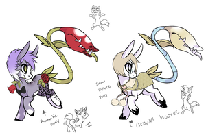 Plant pony collab 2 - OPEN by Ad-opt