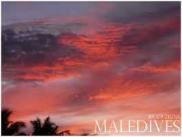 -maledives.sunset- by cp-zigns