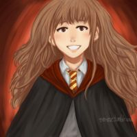 Hermione Granger by Nerime