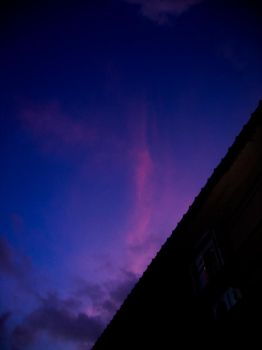 strange plume in the sky by vikram-de-travancore