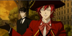 Grell short haired by Zinthr