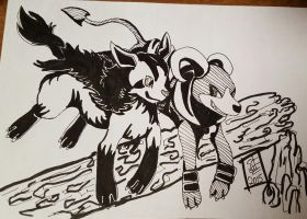 Inktober 28th by Vulpes-Canis