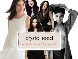 Crystal Reed PNG Pack by WeAreAHurricane14