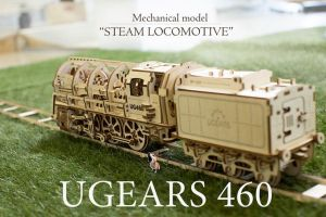Locomotive with tender UGEARS 460 by UGEARS