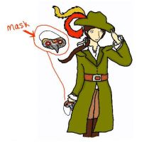 mistery guy with mask by caspisan