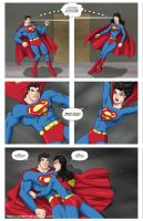 Superman - Superwoman -commiss by mhunt