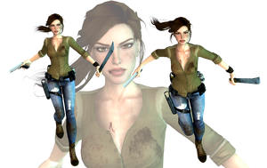 Lara Croft ''Adventurer Light'' mod release by konradM96