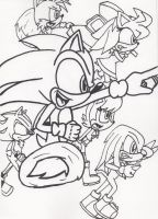 WIP Sonic - Let's Do It To It! by Piplup88908