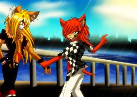 Axel and Alex :NOT COUPLE PIC: by WinterGlace