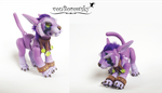 Druid Cat Form - WoW - Ball Jointed Doll 3 by vonBorowsky