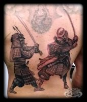 Samurais by state-of-art-tattoo