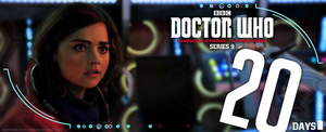 Doctor Who Series 9 - Countdown - 20 DAYS by theDoctorWHO2
