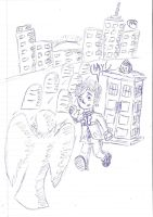 The Doctor in Manhattan by uhnevermind