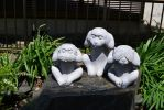 three wise monkeys by SootGremlin