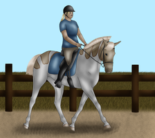 FlyingSpiritStable's Commission 3 by crazykate1
