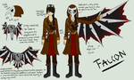 Falcon Ref by Dragon-Wolf-Lover