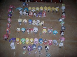 My papercraft collection ^-^ by Gwenathan