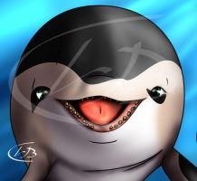 Porpoise Face by Leeham991