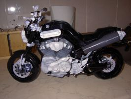 Yamaha MT-01 Motorcycle by greenelf1967