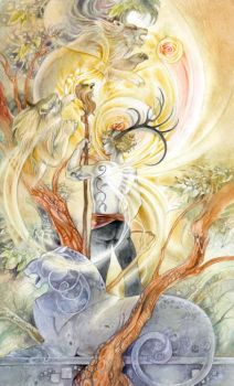 King of Wands by puimun