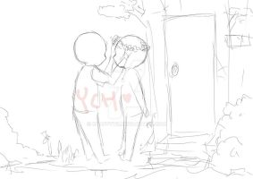 (CLOSED) YCH Couple - Auction by ChappyVII