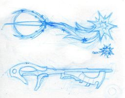 Keyblade Double Pack by PhoenixTrooper