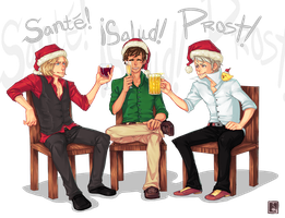 BTT Secret Santa: Cheers by Jotaku