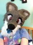 Taylor Fursuit head by bieber90pink