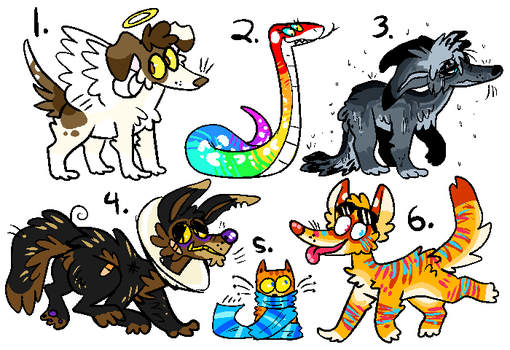 weekly adopts 5 OTA closed by SHOUTMILO