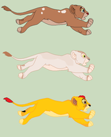 Cheap adoptable lion cubs 2 by HappyDucklings
