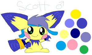 Scott by HeartinaThePony